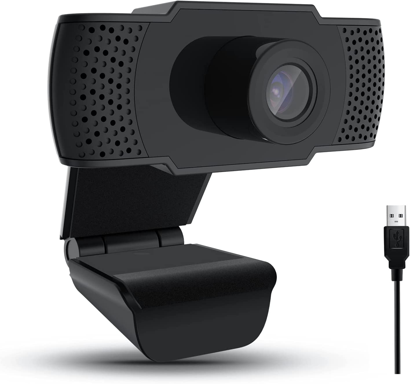 ASDAD The Chicago Mall New HD Max 44% OFF 1080P Webcam with Video Focus Auto Microphone R