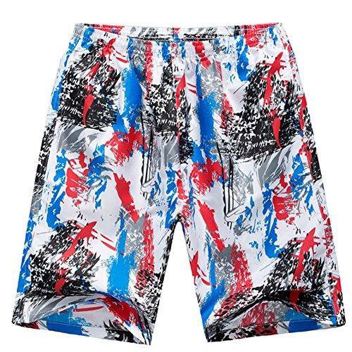 O-C Mens'beach Shorts Summer Beach Pants Trunks