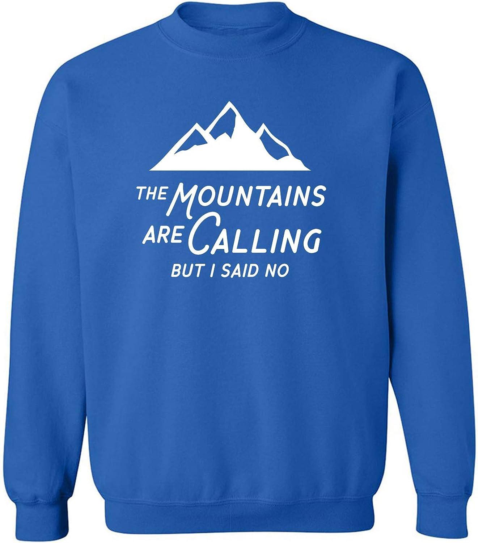 The Mountains are Calling Crewneck Sweatshirt