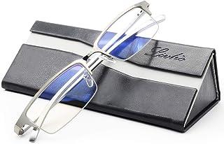 livho Blue Light Blocking Computer Glasses,Anti Eyestrain UV Ray,Sleep Better Women Men