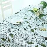 TRE European-Style Gartentisch Tuchgewebe/Tischdecke decke/ längliche Tischdecke/Sauberen Baumwolltuch/Abdeckung Tuch-A 90x145cm(35x57inch)