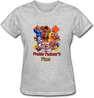 CNTJC Women's Five Nights at Freddy's T Shirt XXL