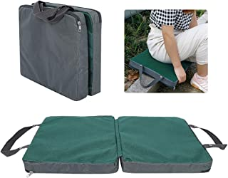 Nivvity Gardening Knee Cushion, Memory Foam Garden Kneeling Cushion Pad Gardening Kneeler Knee Mat (Gray Green Splicing) f...
