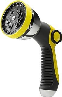 Almadirect Garden Hose Nozzle - Water Hose Nozzle Heavy Duty - Hose Sprayer - Hose Sprayer Nozzle - Adjustable 10 patterns...
