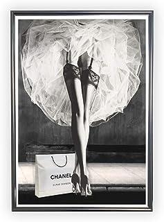 Aroma of Paris アートポスター おしゃれ インテリア 北欧 モノクロ アート #170 A3 ブラックフレーム