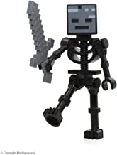Lego Minecraft Wither Skeleton Minifigure with Sword