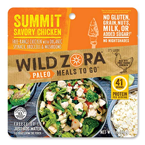 Wild Zora - Summit Savory Chicken - Paleo Meals to Go (single)