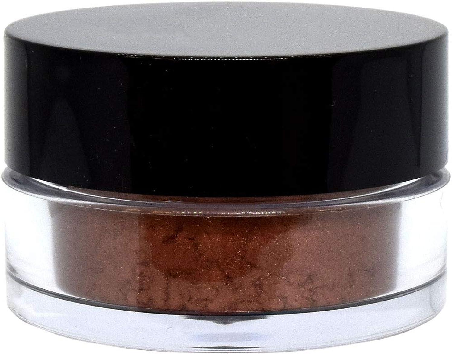 日焼けシーン拡大する三善 プチカラー 高発色 アイシャドウ パール col:27 ブロンズレッド系