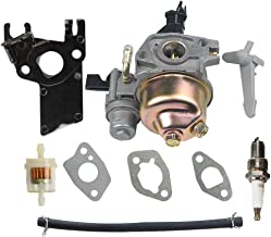 HIPA GX160 Carburetor for Honda GX200 GX 160 GX120 5.5 HP 6.5 HP Engine WP30X Water Pump Pressure Washer with Fuel Filter Spark Plug Tune Up Kit
