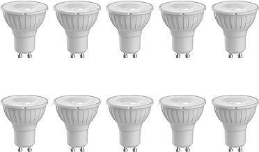Megaman GU10 Reflector Dimmable LED Lamp, 5.5 Watt, 2800K Colour Temperature, Warm White 10 Packs
