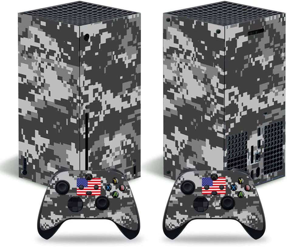 DOMILINA Xbox Series X Skin Stickers Full Cove Decal Sale item Credence Vinyl Body