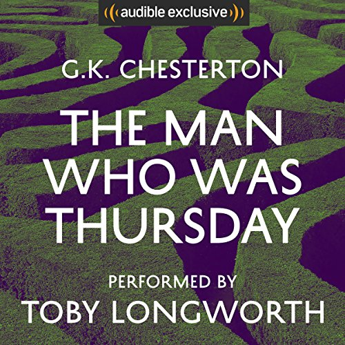 The Man Who Was Thursday  Audiolibri