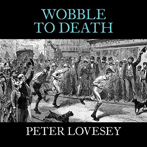 Wobble to Death audiobook cover art