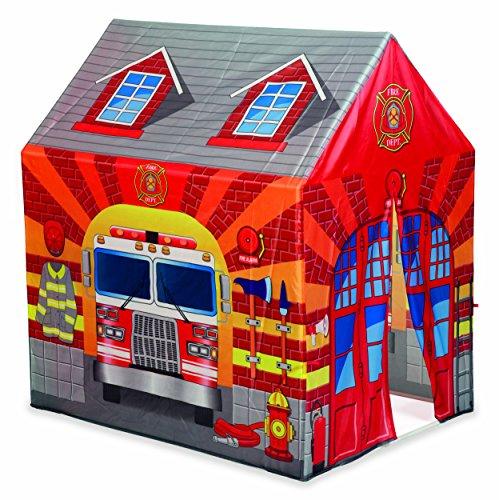 Dal Negro Tenda Caserma dei Pompieri Casetta Giardino Gioco Estivo Estate 559, Stampa, Multicolore, 8001097538010