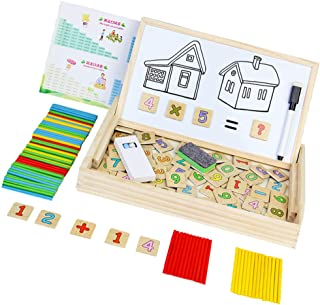 Tomaibaby Tellen Stokken Speelgoed Aantal Kaarten Telbox Voor Kinderen Montessori Wiskunde Leren Educatief Speelgoed