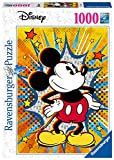 Ravensburger- Puzle Retro de Mickey, Color Negro (15391)