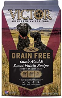 Victor Select - Grain Free Lamb Meal & Sweet Potato Recipe, Dry Dog Food