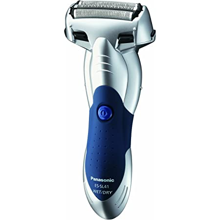 Panasonic ES-SL41-S Arc3 Electric Razor, Men's 3-Blade Cordless with Built-in Pop-Up Trimmer, Wet or Dry Operation