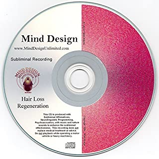 Hair Loss Regeneration Subliminal CD - Yes, You CAN Recover from Hair Loss Naturally!!