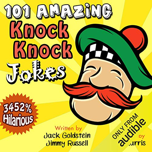 101 Amazing Knock Knock Jokes     Told by Master Funnyman Kent Harris              By:                                                                                                                                 Jack Goldstein,                                                                                        Jimmy Russell                               Narrated by:                                                                                                                                 Kent Harris                      Length: 17 mins     1 rating     Overall 5.0