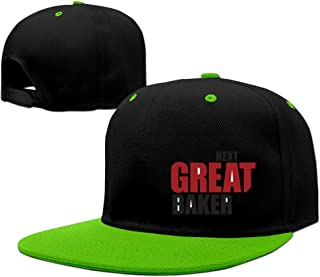 Next Great Baker Chef Hard Panel Snapback Hat Red