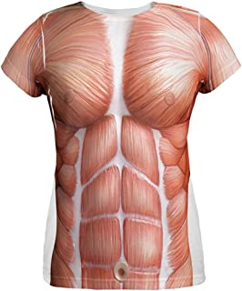 Halloween Muscle Anatomy Costume All Over Womens T Shirt