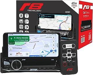 Som Automotivo Auto Radio JR8 com Suporte para Celular USB / SD / Bluetooth - 1020BT