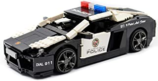 dOvOb Lamborghini Police Car for Boys Toy Building Blocks Creator Model Gift for Adults and Kids(1005 PCS)