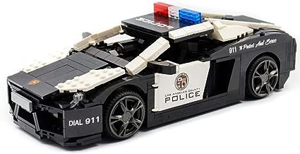 a lamborghini police car