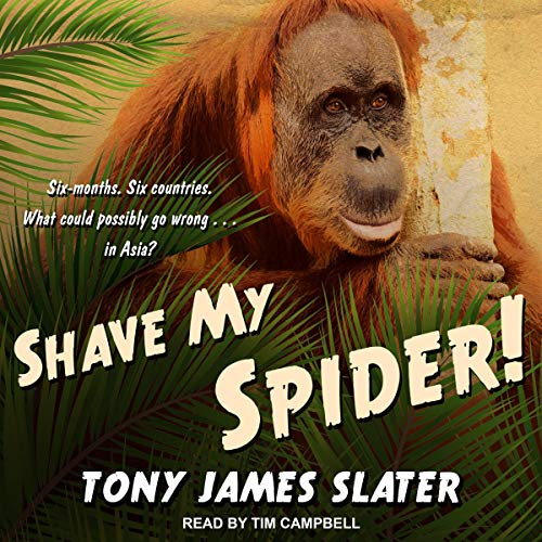 Shave My Spider! audiobook cover art