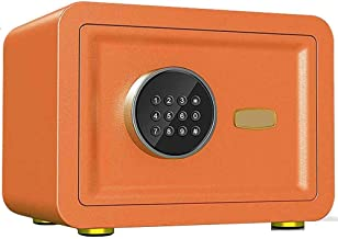 Digital Keypad Safe Box, Small Fireproof Waterproof Electronic Depository Safe with Removable Interior Shelf, for Home Hot...