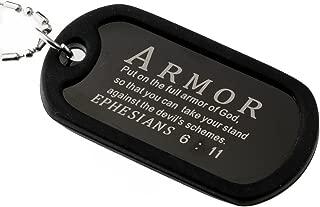 armor of god dog tags