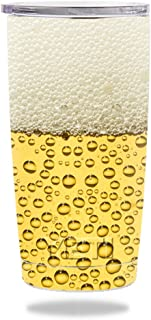 Mightyskins Skin Compatible With Yeti 20 Oz Rambler Tumbler Wrap Cover Sticker Skins Beer Buzz