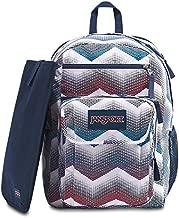 JanSport Digital Student Laptop Backpack - Matrix Chevron White