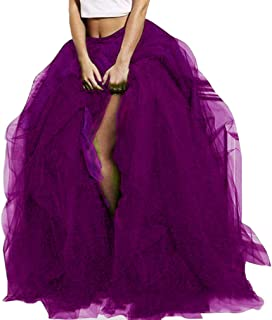 Wedding Planning Women's Black Tulle Special Occasion Skirt