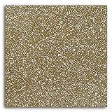 Toga MEG822 Tissu Pailleté Thermocollant Flex Beige 21x30.5x0.1 cm