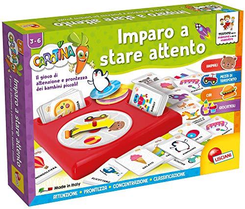 Lisciani Giochi- Imparo a Stare Attento Gioco Educativo, Multicolore, 79971