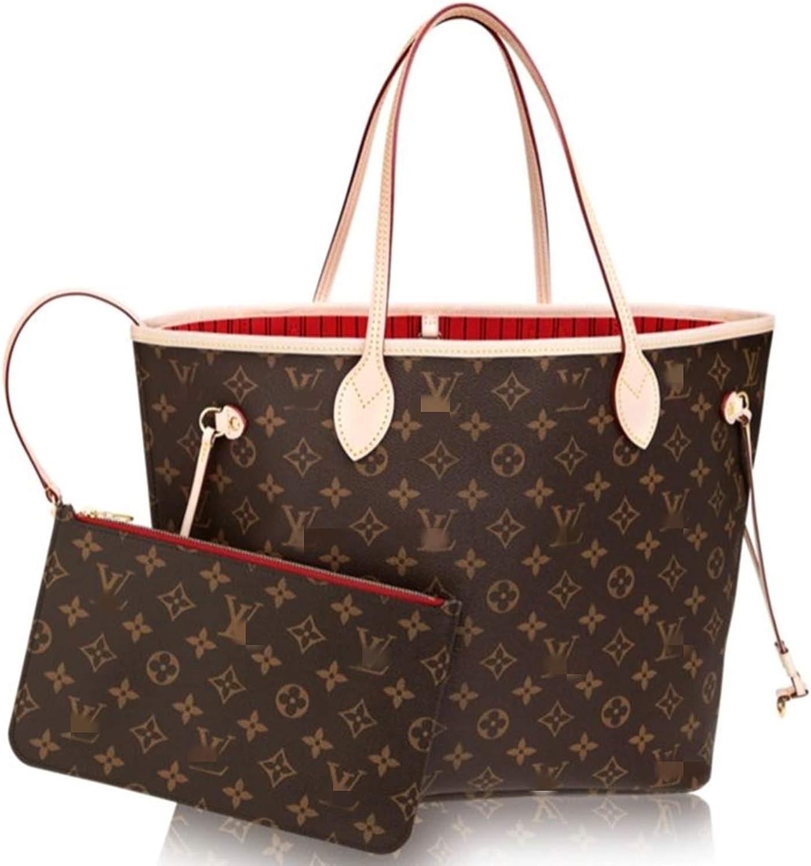 Leather House Monogram Canvas Turenne MM Tote Bag Handbag