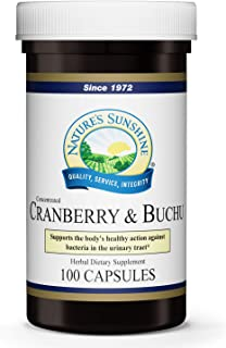 Nature's Sunshine Cranberry and Buchu Concentrate 100 Capsules