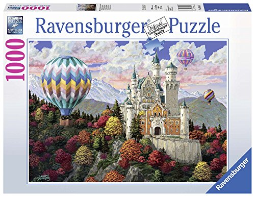 Ravensburger 19857 - Neuschwanstein Dreams Puzzle 1000pc Jigsaw Puzzle