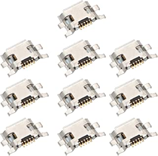WUXUN-PHONE ACCESSORY Repair Parts Compatible with Motorola Moto G2 / Moto G (2nd Gen) XT1063 XT1064 XT1068 XT1069 Charging Port Connector 10 PCS