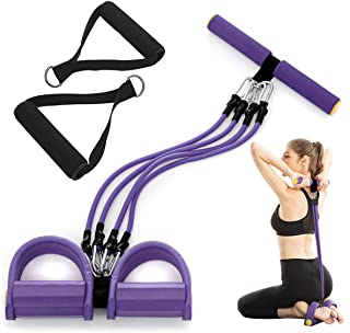 gracosy resistensband set träning avtagbara dragrep träningsband med handtag hem och gym träningsband för buken, axlar, mi...