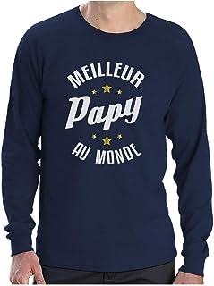 Papa t-shirt homme mythe légende père fils fille slogan Drôle Cadeau Fun