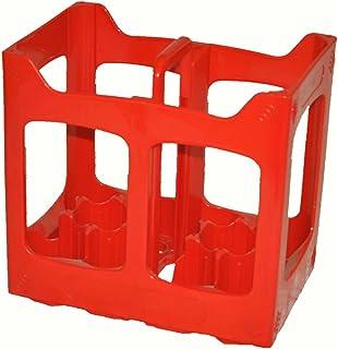 Plastique 10 Compartiments Bouteille de Bière Caisse Compatible avec 10 x 330 ou 500ml Brassage Boîte de Rangement Recycla...