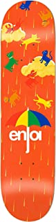 Enjoi Raining Cats & Dogs Yellow 8.0 Skateboard Deck