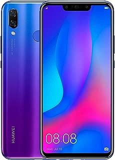Huawei Nova 3 Dual SIM - 128GB, 4GB RAM, 4G LTE, Purple