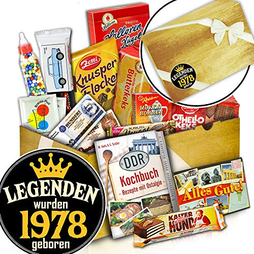 DDR Geschenkidee Süß - Geschenk für einen Mann - DDR Waren - Legenden 1978