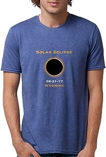 CafePress - Solar Eclipse 2017 Total Solar Eclipse 8/21/17 WYO - Mens Tri-blend T-Shirt