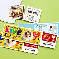 サンワサプライ アウトレット インクジェット用フリーカード チケット JP-FR1N 箱にキズ、汚れのあるアウトレット品です。