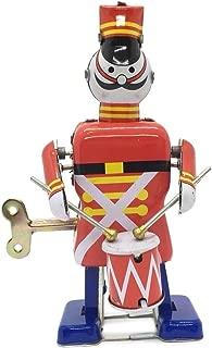 COZY LADYCRAFT Soldier Drummer Vintage Windup Retro Tin Toy